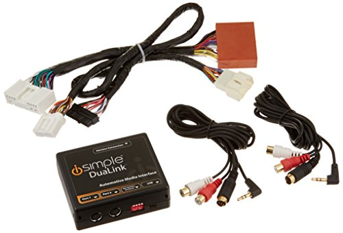 iSimple ISMZ531 Automotive Dual Auxiliary Input Kit for S...