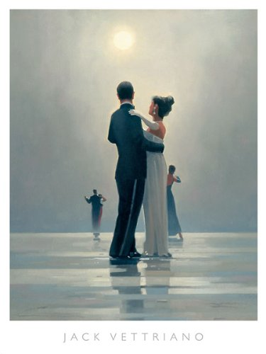 (Dance Me to the End of Love Jack Vettriano Love Print 35.5x47.25)