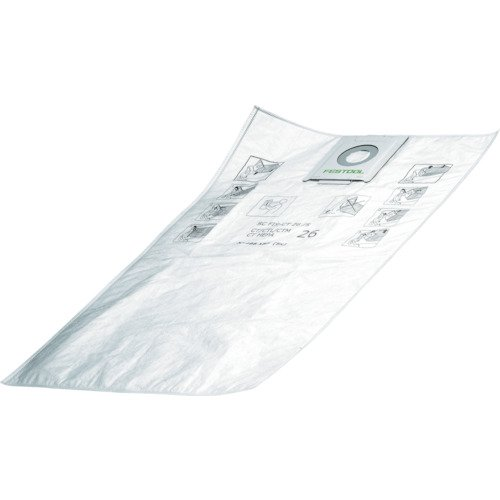 Festool 496187 Selfclean Filter Bag For CT 26, Quantity 5
