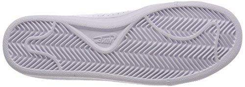 Nike White, Zapatillas de Deporte Para Niños Blanco (White / White)