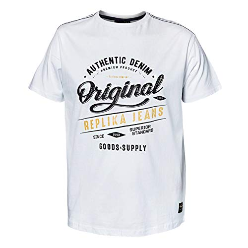 Réplique Blanc shirt Allsize Logoprint Xxl T wdSwZqRv