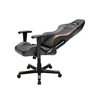 DXRacer Drifting Series DOH/DF73/NC Newedge Edition Racing Bucket Seat Office Chair Gaming Chair Ergonomic Computer Chair eSports Desk Chair Executive Chair Furniture With Pillows (Black/Coffee)
