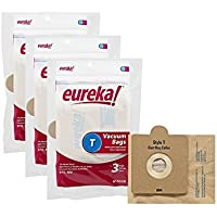 Genuine Eureka Style T Vacuum Bag 61555B - 9 bags by Eureka