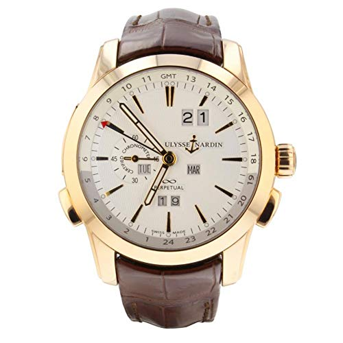 Ulysse Nardin Perpetual Manufacture Automatic-self-Wind Male Watch 322-10 (Certified Pre-Owned)