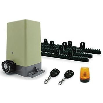 Avidsen Kit Motorisation Pour Portail Coulissant Amazon Fr Bricolage