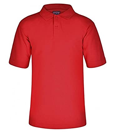 Qulaity Polo Shirt School Sports Casual Wear Unisex Boys Girls Children Adult Sizes 10 Colours