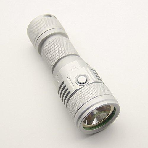 SC02 MTG2 5000K 26650 2000LM EDC LED Flashlight (Color Silver) by LEEPRA (Image #3)