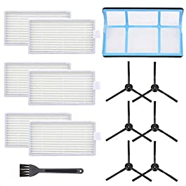 Mochenli Vacuum Filter Kit Replacement for Robotic Vacuum ILIFE V3 V3S V5 V5s, Pro Robot Vacuum Cleaner 6 Filters and 6…