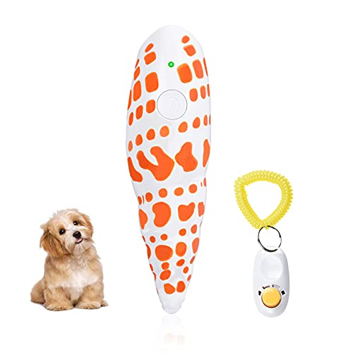 Dog Barking Control Devices, 16.4 Feet Handheld Anti Barking Device, Portable USB Rechargeable Ultrasonic Dog Training Tool Outdoor Indoor