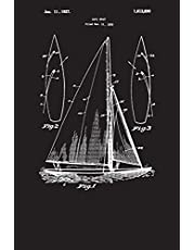 Sailboat: Captain's Log Book - Sailing Boat (Blank Lined Journal)