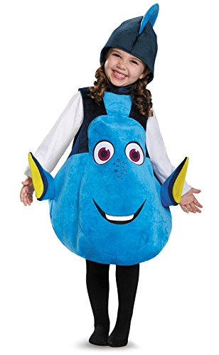Disney Costumes - Dory Toddler Deluxe Finding Dory Disney/Pixar Costume, One Size Child