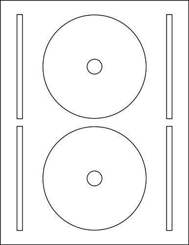 200 Full Face White CD / DVD Labels (Ace 61400-C) 4.65625