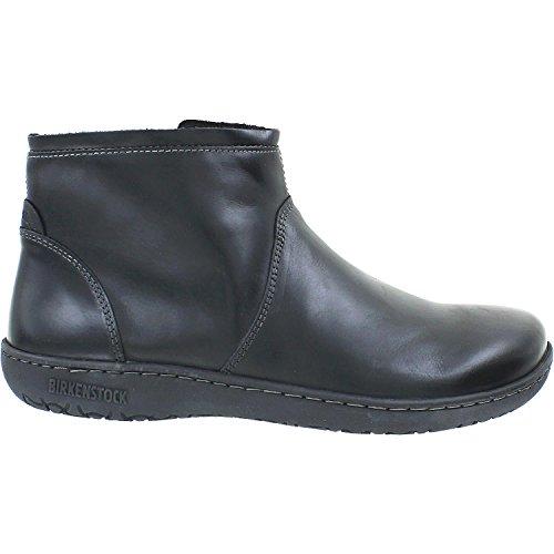 Birkenstock Women's Bennington Black Leather 39 (US Women's 8-8.5)