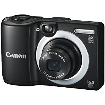 Canon powershot a1400 16 0 mp digital camera with 5x digital image stabilized zoom 28mm wide