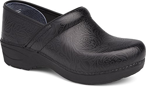 Dansko Womens Xp 2.0 Black Floral Lavorato