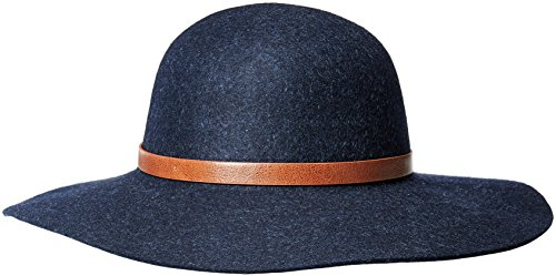 Echo Design Women's Wool Felt Floppy Hat, Navy, One Size