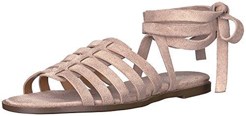 Report Women's Zella Flat Sandal, Taupe, 8.5 M US ()