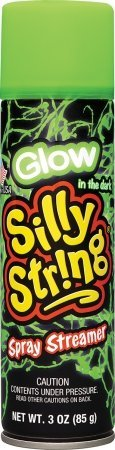 Silly String Streamer (Toysmith Glow Silly String Playset)