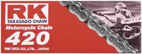 RK 420 M Standard Chain - 110 Links , Chain Type: 420, Chain Length: 110, Chain Application: All 420X110 RK-M ()