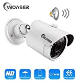 WOASER 1080P 48V XMEYE Surveillance Camera IP Waterproof IP66 Outdoor ONVIF Email Alert Mobile Monitoring IP Camera Audio