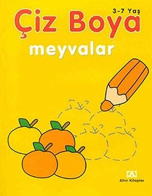 Ciz Boya Meyvalar 3 7 Yas Amazon Co Uk Kolektif