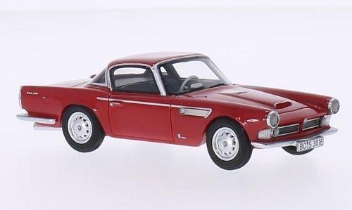 BMW 3200 Michelotti vignale, rosso, 1959, modello di automobile, modello prefabbricato, BoS-Modelos 1 43 Modello esclusivamente Da Collezione