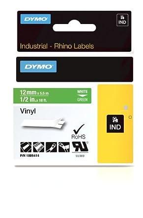 DYMO 1805414 cinta para impresora de etiquetas - Cintas para impresoras de etiquetas (Vinilo, Caja, Bélgica)