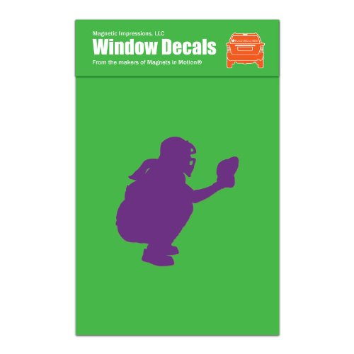 softball catcher window decals - 1