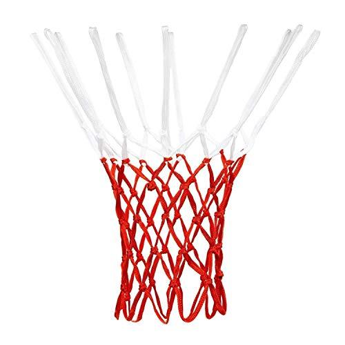 Aoneky - Red de Repuesto de Red de Baloncesto de poliéster para Exteriores, Todo Tipo de Clima se Adapta a Redes de...