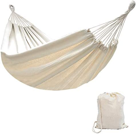 Lazy Daze Hammocks Brazilian Double Hammock Portable Canvas Hammock