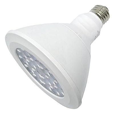 GE Lighting Dimmable LED Lamp, 18 watt, 120 volt, PAR38, Medium Screw (E26) Base, 1700 lumens, 25 deg