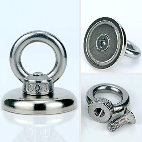 Zoomarlous Neodymium Magnet Super Strong Powerful Salvage Hook Fishing Magnetic Circular by Zoomarlous (Image #4)