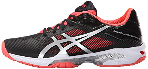 Gel Rosa 3 Nero M Speed Us Speed 5 Diva Da Tennis Scarpe Donna Argento 10 q04Ynz