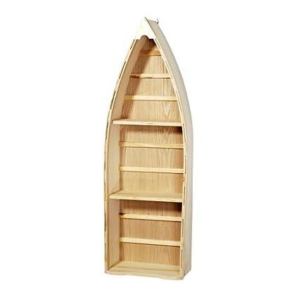 Amazoncom Unfinished Wood 24in Boat Shelf W 2 Oars 2 Pack Arts