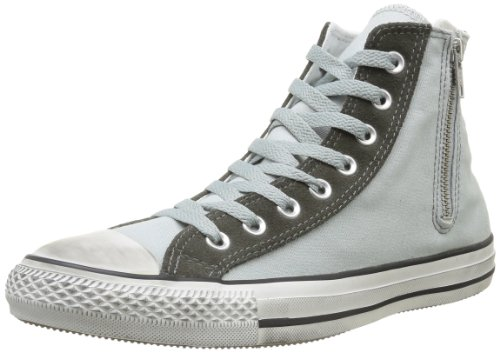 Side All Mujer Gunmet Zip Gris Hi Converse Grey Mirage distressed Canvas Star Botines OBpqOnR