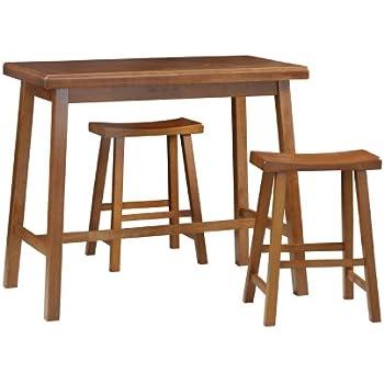 Amazon Com Carolina Cottage Asian Bar Table Walnut