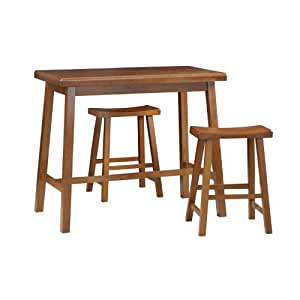 Amazon Com Carolina Cottage Asian Bar Table Walnut
