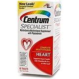 Centrum Specialist Complete Multivitamin: Heart, Tablets 60 ea
