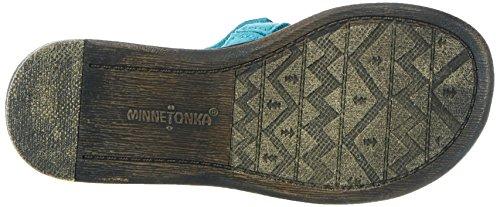 Minnetonka Mädchen Maya Sandalen Türkis (Turquoise)