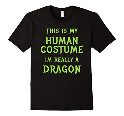 Mens Dragon Halloween Costume Shirt Easy Funny for Boys Men Women 2XL (Cheap Group Halloween Costumes)