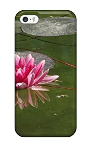 New Snap-on Clarencepca Skin Case CoverCase For Sam Sung Note 2 Cover - Nymphaea Lily Pond Nature Flower