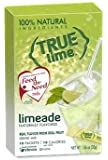 True Lime LIMEADE (Pack of 4) 10ct each box. True Lemon | True Citrus
