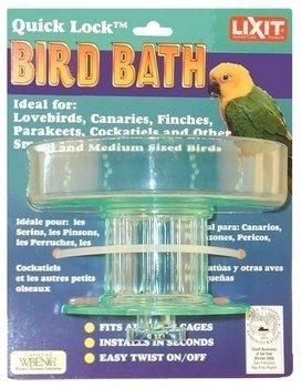 Lixit Corporation BLX0787 Quick Lock Bird Bath, My Pet Supplies