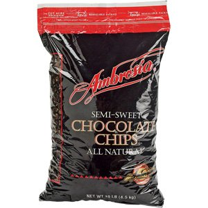 10 pound bag chocolate chips - 4