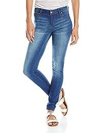 celebrity pink jeans Women 's Infinite elástico Mid Rise Skinny Jean, Azul, 9