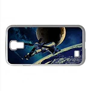 Space Satellite Watercolor style Cover Samsung Galaxy S4 I9500 Case