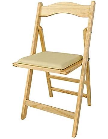 SoBuy® Sillla plegable, silla, sillla de madera, silla de cocina, silla