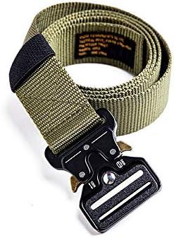 E.A@MARKET Retro Cobra Tactical Buckle Belt Accessories Casual Belt Men / E.A@MARKET Retro Cobra Tactical Buckle Belt Accessories Casual Belt Men
