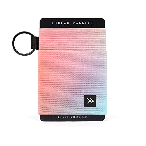 - Thread Wallets - Slim Minimalist Wallet - Front Pocket Credit Card Holder for Women (One Size, Off Axis)