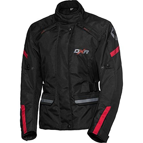 DXR Motorradjacke, Motorrad Jacke Damen Tour Textiljacke 5.0, Motorradjacke Damen, wasserdicht, Winddicht, atmungsaktiv…